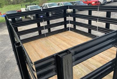 2018 Ram 5500 Regular Cab DRW 4x4,  Reading Steel Stake Bed #T18355 - photo 5
