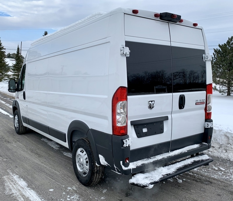 2018 ProMaster 2500 High Roof FWD,  Empty Cargo Van #T18356 - photo 3