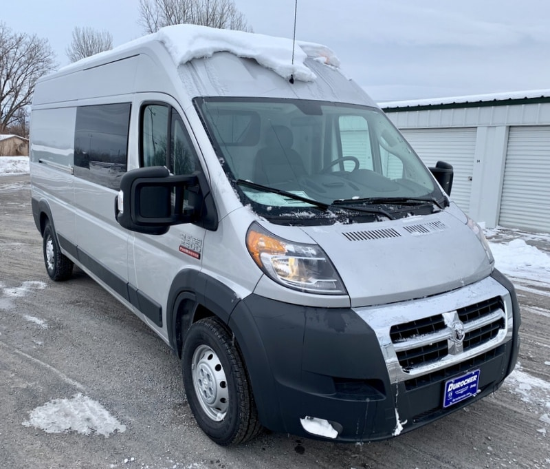 2018 ProMaster 2500 High Roof FWD,  Empty Cargo Van #T18357 - photo 5