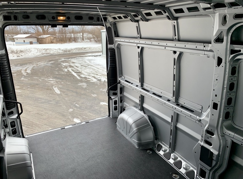 2018 ProMaster 2500 High Roof FWD,  Empty Cargo Van #T18357 - photo 7