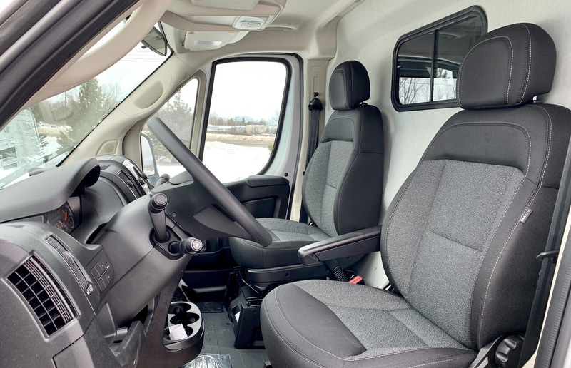 2018 ProMaster 2500 High Roof FWD,  Empty Cargo Van #T18357 - photo 9