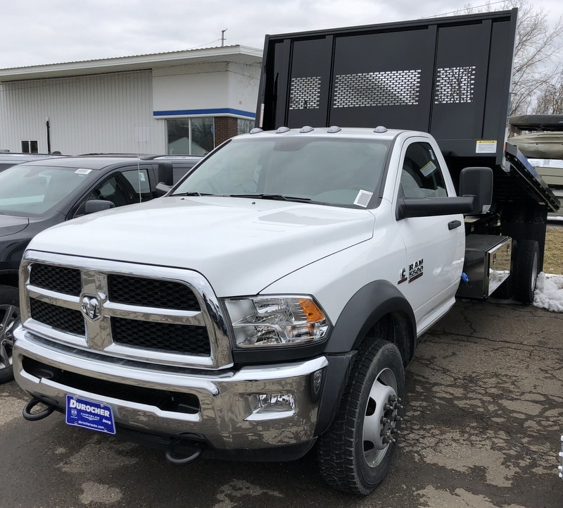 2018 Ram 5500 Regular Cab DRW 4x4, Iroquois Platform Body #T1856 - photo 13