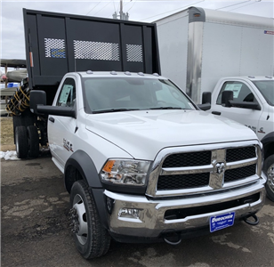 2018 Ram 5500 Regular Cab DRW 4x4, Iroquois Platform Body #T1856 - photo 18