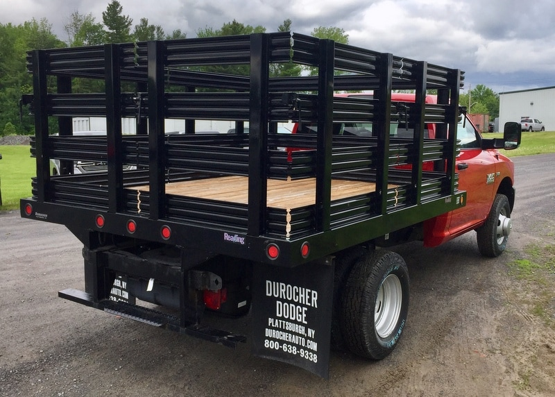 2018 Ram 3500 Regular Cab DRW 4x4,  Reading Redi-Rack Stake Bed #T1864 - photo 3