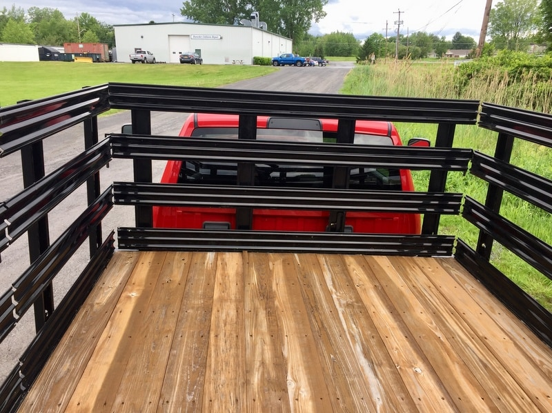 2018 Ram 3500 Regular Cab DRW 4x4,  Reading Redi-Rack Stake Bed #T1864 - photo 12