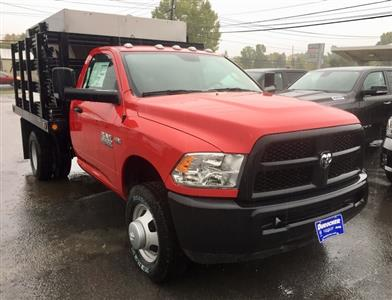2018 Ram 3500 Regular Cab DRW 4x4,  Reading Redi-Rack Stake Bed #T1864 - photo 4