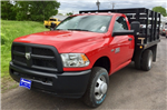 2018 Ram 3500 Regular Cab DRW 4x4,  Reading Redi-Rack Stake Bed #T1864 - photo 1
