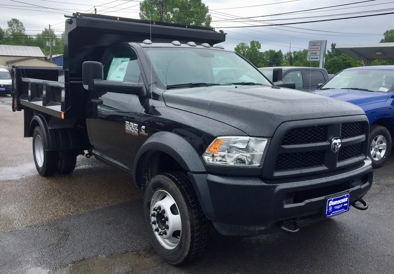 2018 Ram 5500 Regular Cab DRW 4x4,  Iroquois Dump Body #T1895 - photo 4