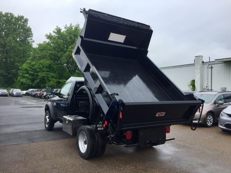 2018 Ram 5500 Regular Cab DRW 4x4,  Iroquois Dump Body #T1895 - photo 8