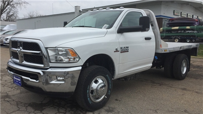 2018 Ram 3500 Regular Cab DRW 4x4, Platform Body #T1898 - photo 1