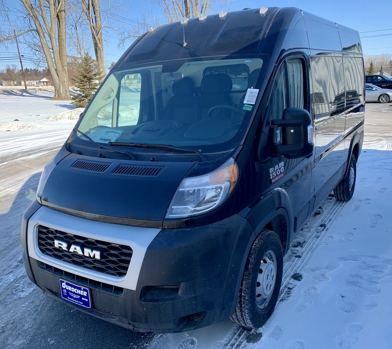 2019 ProMaster 1500 High Roof FWD,  Empty Cargo Van #T19133 - photo 1