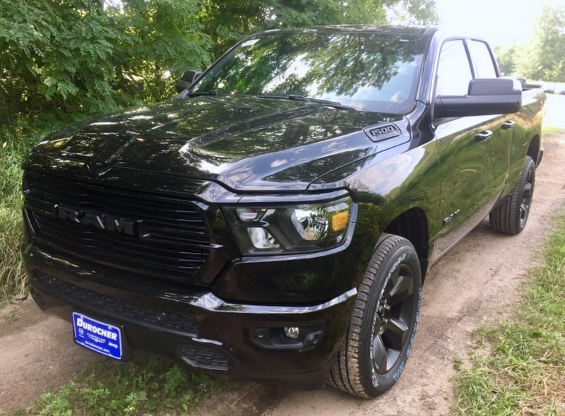 2019 Ram 1500 Quad Cab 4x4,  Pickup #T1925 - photo 1