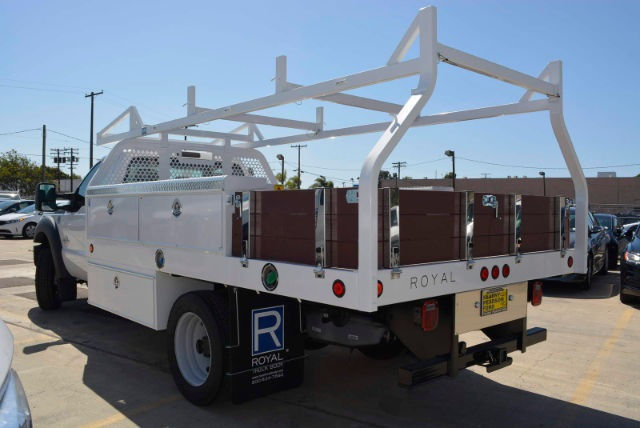 2016 F-450 Regular Cab DRW, Royal Contractor Body #1072923 - photo 2