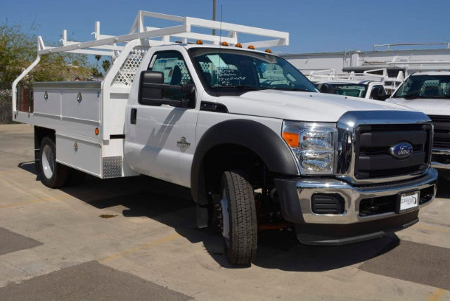 2016 F-450 Regular Cab DRW, Royal Contractor Body #1072923 - photo 6