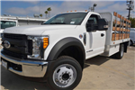 2017 F-450 Regular Cab DRW, Scelzi Western Flatbed Stake Bed #1081505 - photo 1