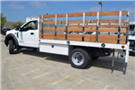 2017 F-450 Regular Cab DRW, Scelzi Western Flatbed Stake Bed #1081505 - photo 2