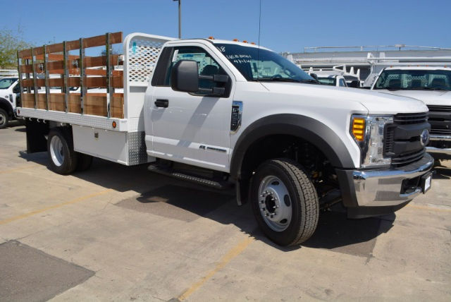 2017 F-550 Regular Cab DRW, Scelzi Platform Body #1081506 - photo 4