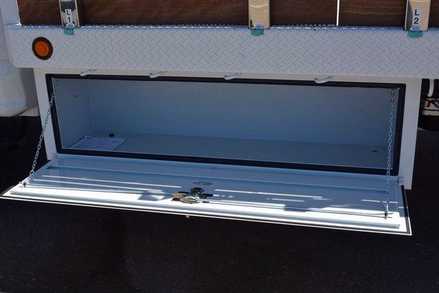 2017 F-550 Regular Cab DRW, Scelzi Flatbed Stake Bed #1081507 - photo 12