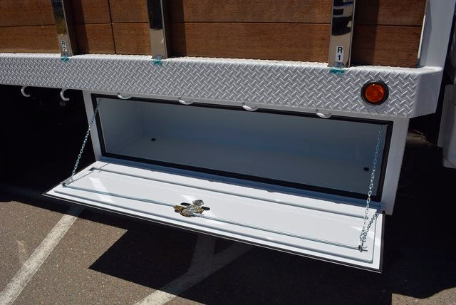 2017 F-550 Regular Cab DRW, Scelzi Flatbed Stake Bed #1081507 - photo 13