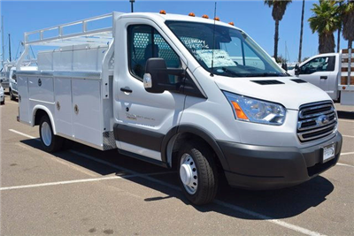 2017 Transit 350 HD DRW Service Body #1081889 - photo 5