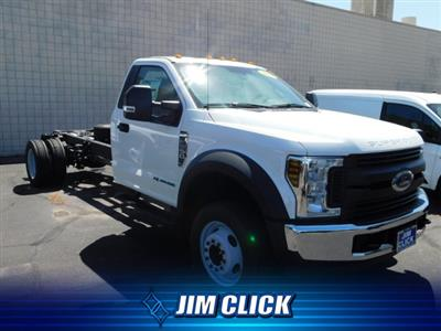 2019 F-550 Regular Cab DRW 4x2,  Cab Chassis #J190421 - photo 1