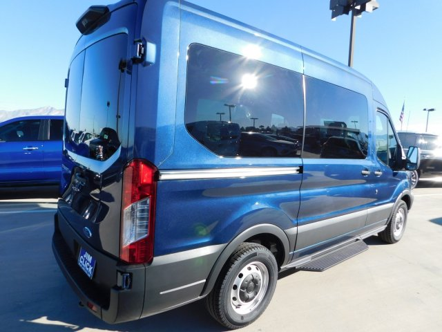 2019 Transit 150 Med Roof 4x2,  Passenger Wagon #J190510 - photo 2