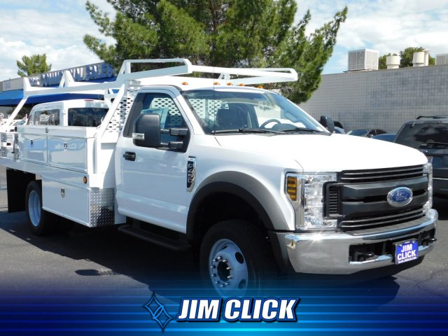 2019 F-450 Regular Cab DRW 4x2,  Scelzi CTFB Contractor Body #J190514 - photo 1