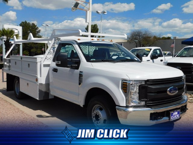 2019 F-350 Regular Cab DRW 4x2,  Scelzi CTFB Contractor Body #J190515 - photo 1
