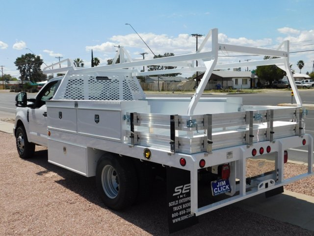 2019 F-350 Regular Cab DRW 4x2,  Scelzi CTFB Contractor Body #J190515 - photo 4