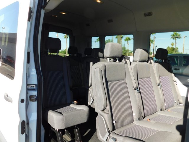 2016 Transit 350 Med Roof 4x2, Passenger Wagon #J190656A - photo 7