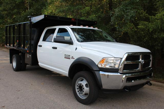 2017 Ram 5500 Crew Cab DRW 4x4, Landscape Dump #ND7197 - photo 9