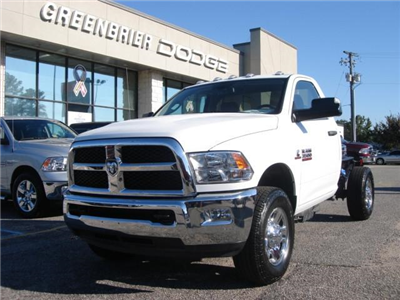 2017 Ram 3500 Regular Cab 4x4 Cab Chassis #D17148 - photo 1