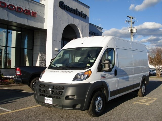 2018 ProMaster 2500 High Roof FWD,  Ram Truck Equipment Upfitted Cargo Van #D18524 - photo 1
