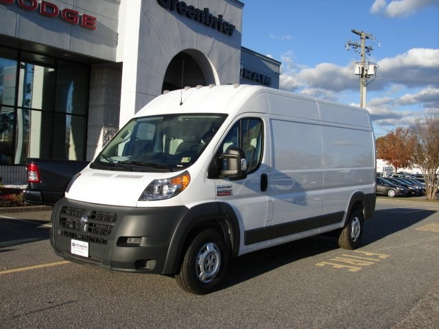 2018 ProMaster 2500 High Roof FWD,  Ram Truck Equipment Upfitted Cargo Van #D18524 - photo 3