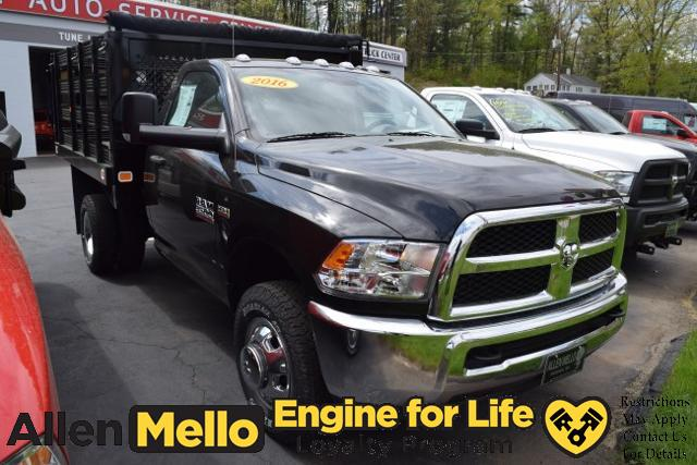 2016 Ram 3500 Regular Cab DRW 4x4, Knapheide Stake Bed #E60006 - photo 8