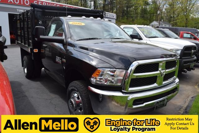 2016 Ram 3500 Regular Cab DRW 4x4, Knapheide Stake Bed #E60006 - photo 9