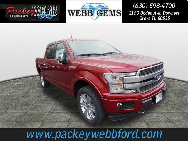 2018 F-150 Crew Cab 4x4 Pickup #18T1217 - photo 4