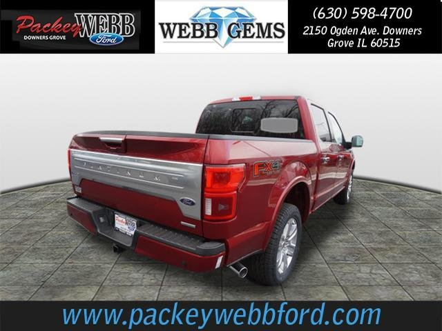 2018 F-150 Crew Cab 4x4 Pickup #18T1217 - photo 5