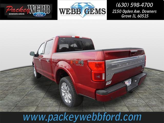 2018 F-150 Crew Cab 4x4 Pickup #18T1217 - photo 2