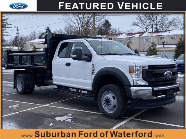 2020 Ford F-550 Super Cab DRW 4x4, Galion Dump Body #203628 - photo 1
