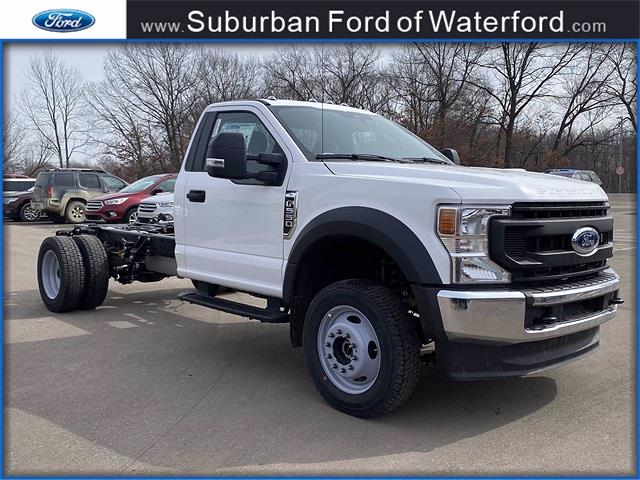 2021 Ford F-550 Regular Cab DRW 4x4, Cab Chassis #210281 - photo 1