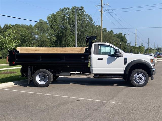 2021 F-550 Regular Cab DRW 4x4,  Galion 100U Dump Body #210293 - photo 15