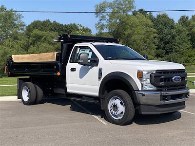2021 F-550 Regular Cab DRW 4x4,  Galion 100U Dump Body #210293 - photo 1
