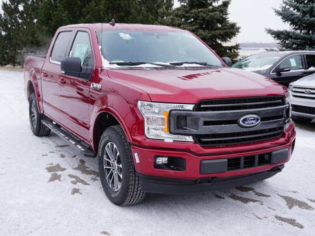 2019 F-150 SuperCrew Cab 4x4,  Pickup #IZZ0572 - photo 4