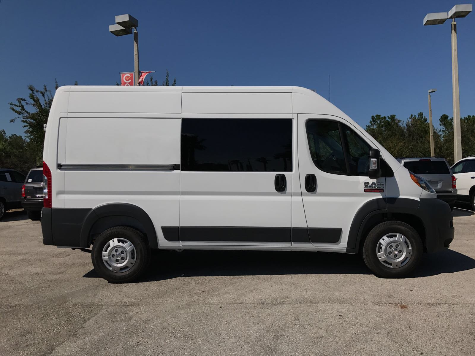 2017 ProMaster 2500 High Roof, Cargo Van #R17630 - photo 6