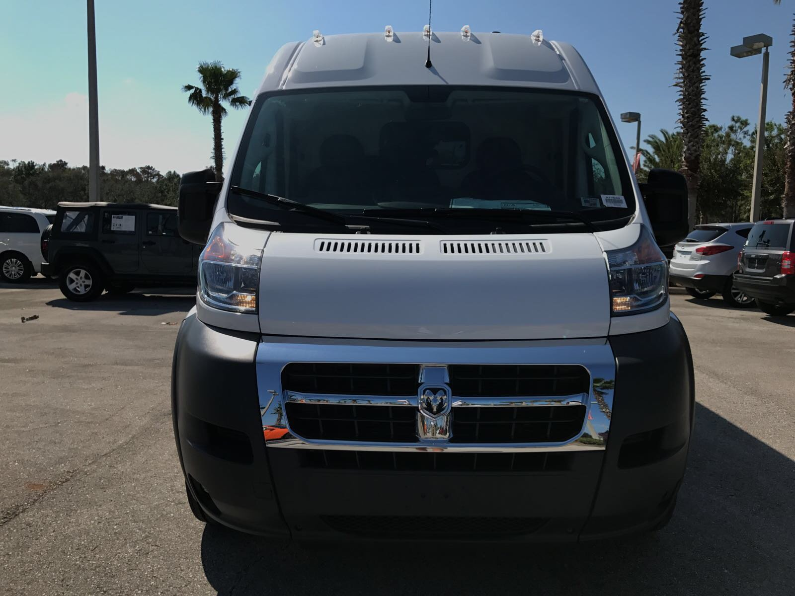 2017 ProMaster 2500 High Roof, Cargo Van #R17630 - photo 9