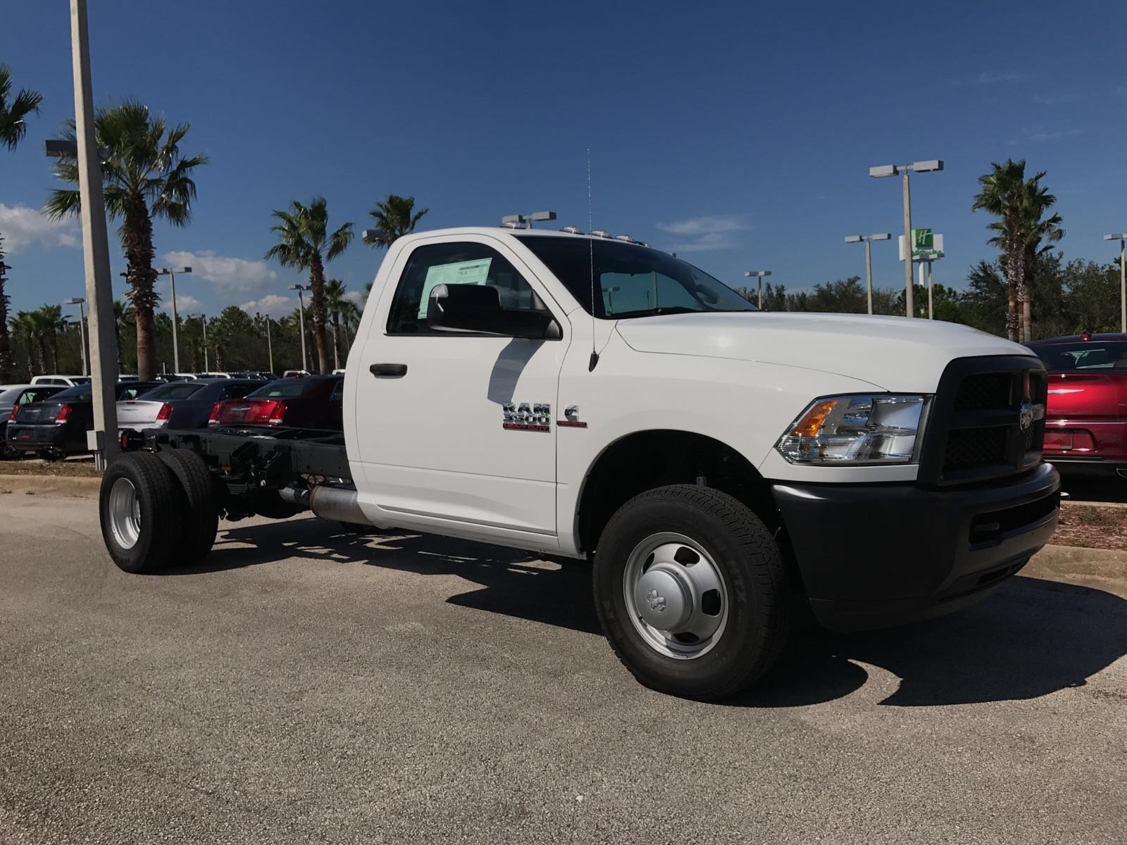 2017 Ram 3500 Regular Cab DRW 4x4, Cab Chassis #R17699 - photo 3