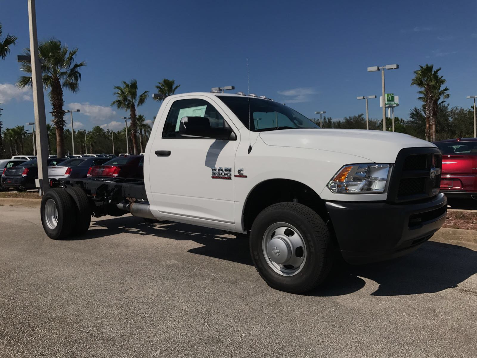 2017 Ram 3500 Regular Cab DRW 4x4, Cab Chassis #R17699 - photo 5