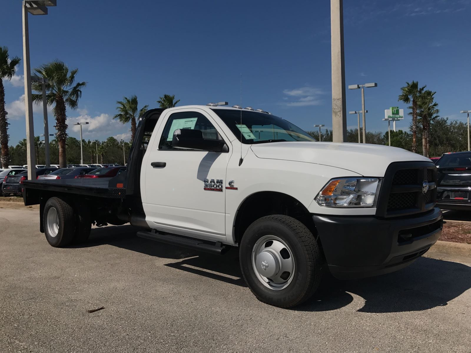 2017 Ram 3500 Regular Cab DRW 4x4, Platform Body #R17734 - photo 3