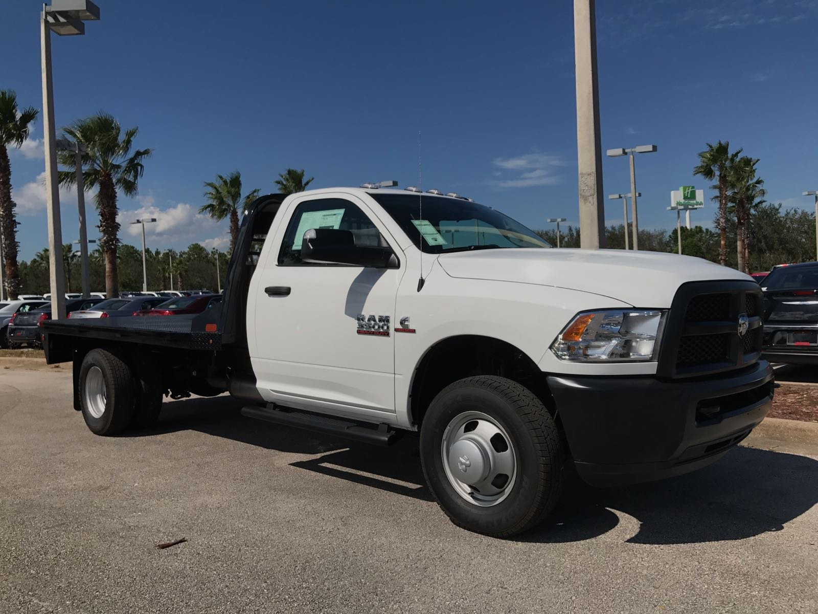 2017 Ram 3500 Regular Cab DRW 4x4, Platform Body #R17734 - photo 5